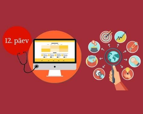 E turunduskoolitus: Digiturunduse ja veebilehe analüüs checklisti stiilis