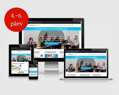 WordPressi veebikoolitus – oma kodulehe tegemine WordPressiga